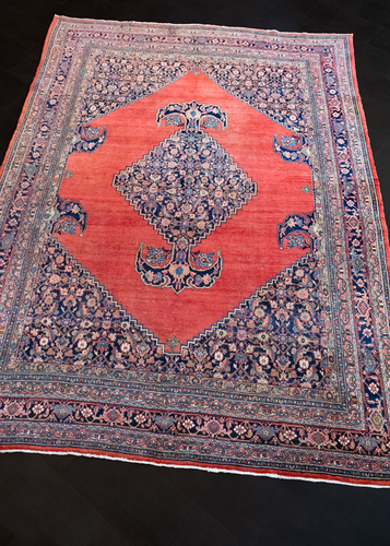 Antique Bidjar Rug- 8'5 x 11'5