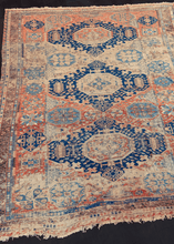 Antique Caucasian Soumak - 7'8 x 9'