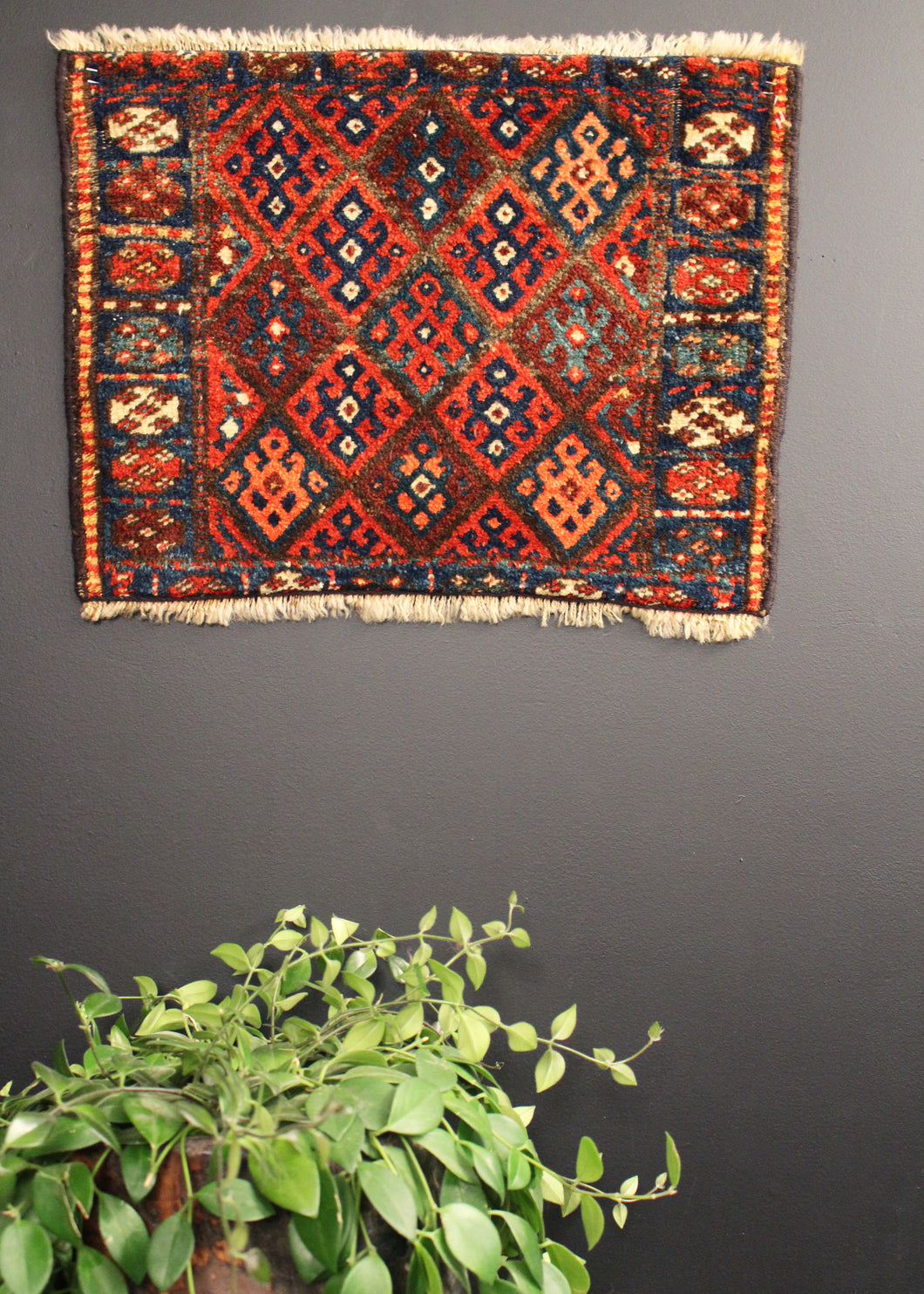 Antique Kurdish Jaff - 1'6 x 2'