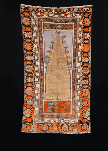 Turkish Prayer Rug - 2'9 x 4'7