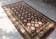 Antique Tibetan Rug - 3'9 x 6'8