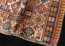 Antique Shirvan Rug - 3'10 x 5'8