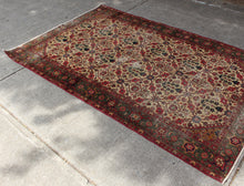 Antique Agra - 3'1 x 6'7