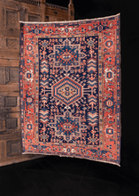 Antique Karadja Rug - 4'10 x 6'3
