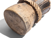 Carved Wooden Mortar