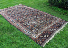 Antique Yomud Turkmen - 7' x 11'9