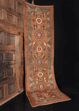 Antique Camel Kurdish Runner - 2'10 x 9'5