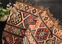 19th c Shirvan Kilim - 4'9 x 8'4