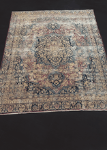 Antique Large  Meshed Rug - 7'1 x 9'4