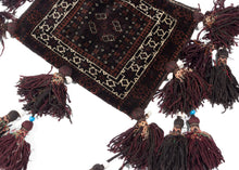 BK876- Baluch Chanteh with Tassels - 1' x 1'3