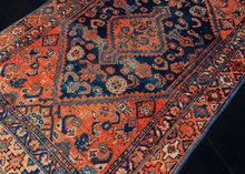 Antique Hamadan Rug - 3'4 x 4'8