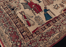 19th Century Pictorial Kerman Rug - 3'10 x 6'7
