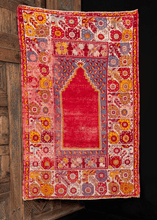 19th Century Mudjur Prayer Rug - 3'5 x 5'5