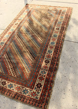 Antique Kazak Rug - 4' x 7'8