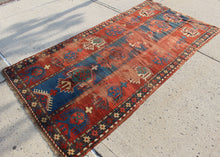 Antique Kazak Rug - 3'7 x 7'8