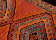Unusual Karabagh Rug - 5'4 x 7'3