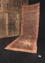 Antique Kurdish Runner - 3'10 x 12'10