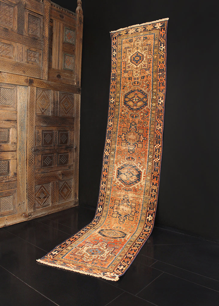 Antique Karadja - 2'3 x 10'8