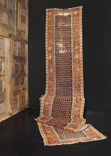 Antique Malayer Runner - 2'7 x 13'9