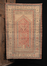 Silk Turkish Kayseri Prayer Rug - 3'8 x 5'6