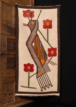 Andean Textile with Stylized Bird - 2'2 x 4'6