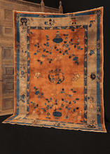 Early 20th Century Chinese Peking Rug - 6' x 8'6