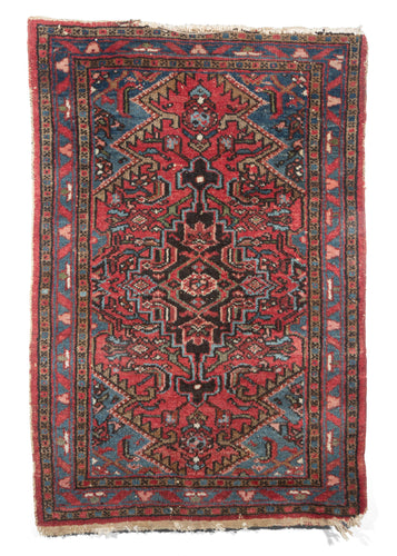 NW Persian Hamadan Scatter Door Entry Rug