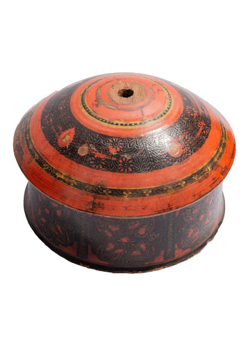Swat Valley Painted Lacquer Box