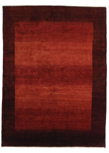 RED Contemporary Modern Minimal Dramatic South Persian Lori Gabbeh Area Rug