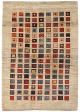 Contemporary Modern Handwoven South Persian Lori Gabbeh Area Rug
