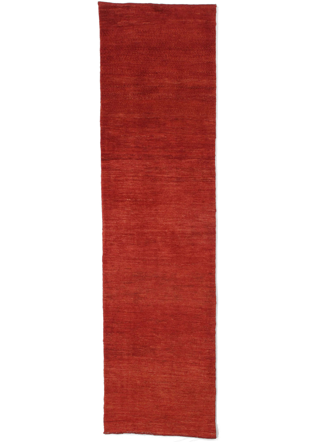 Contemporary Modern Minimal RED South Persian Lori Gabbeh Runner