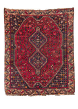 South Persian Shiraz Rug with bright colors and lush pile