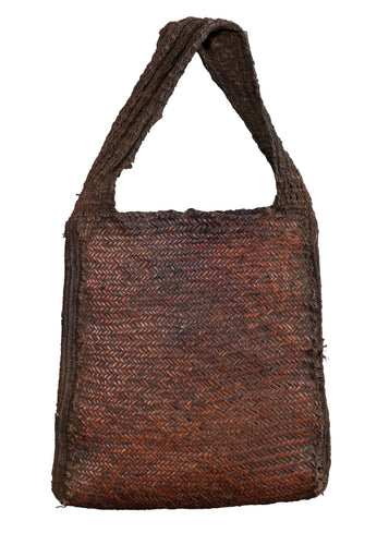 Vintage New Guinea Highlands Woven Bag - 11
