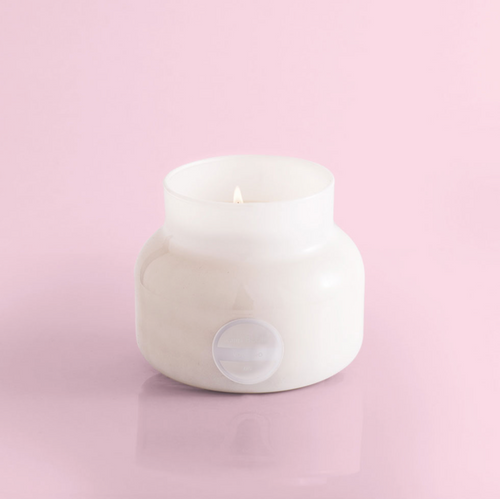 Volcano Candle / White Jar