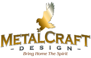 Metal artwork laser cut from steel, hand crafted, and American made gifts