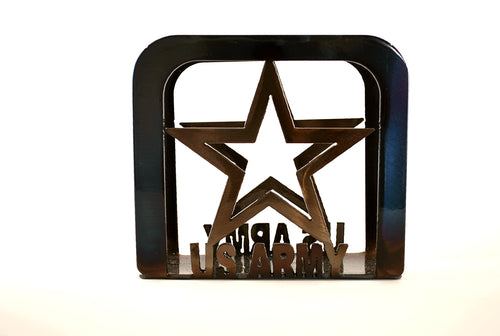 US Army Large Napkin Holder