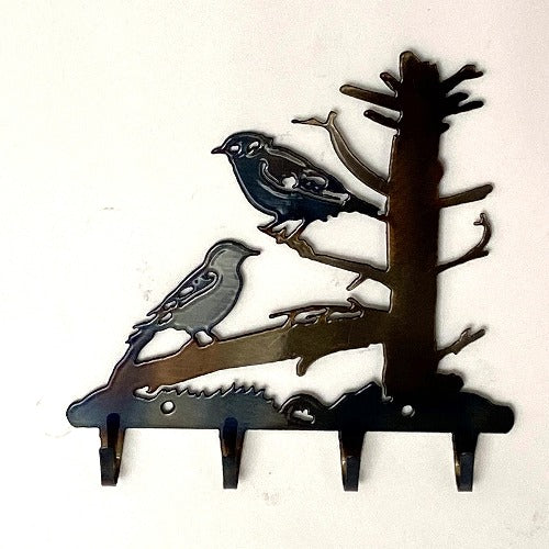 Blue Birds Key Rack