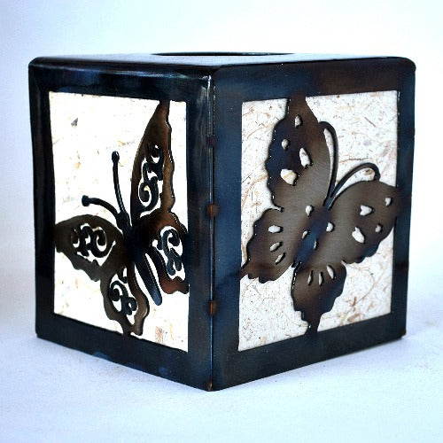 Butterfly Tissue Box Holder