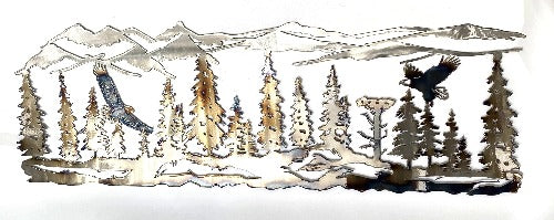 Eagle Mountain Landscape Wall Art