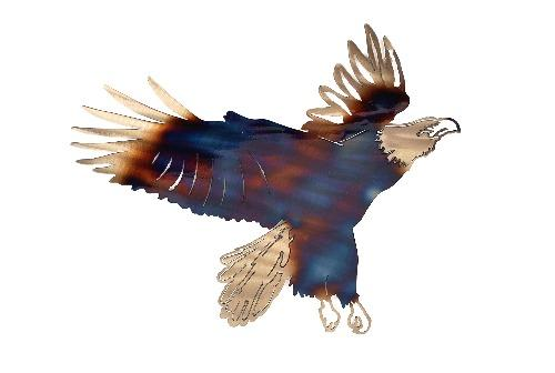 Eagle Landing Wall Art