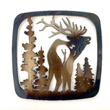 Elk With Turned Head Trivet