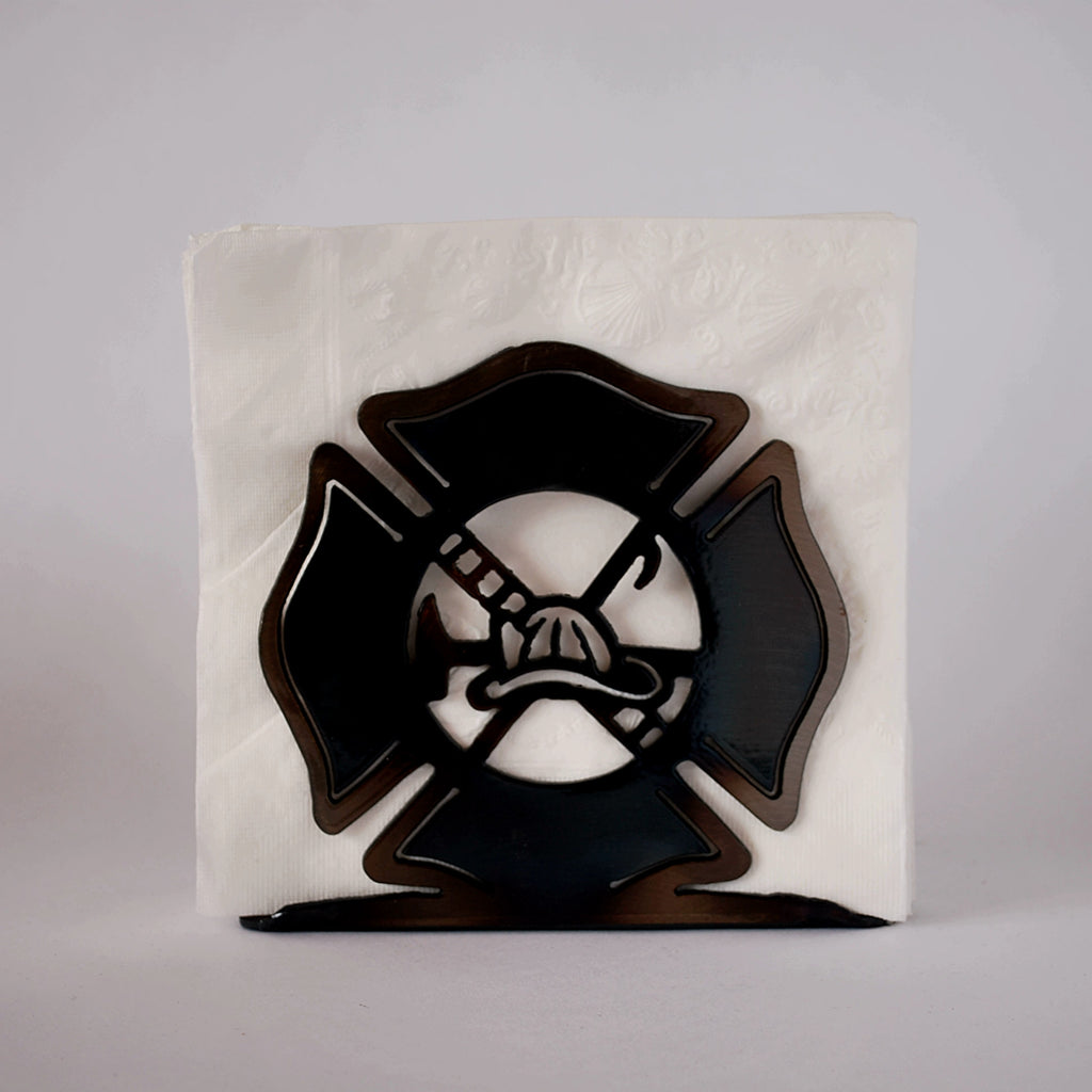 Firefighter Large Napkin Holder