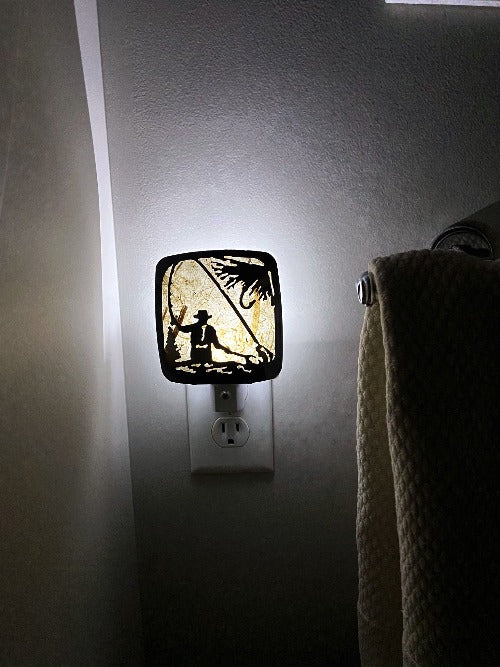 Fisherman Night Light