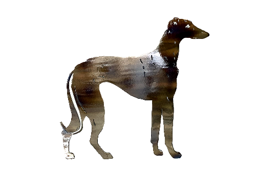 Greyhound Metal Wall Art