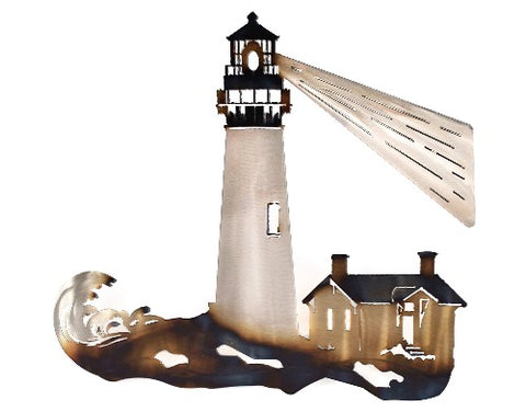Lighthouse with Beam Wall Art