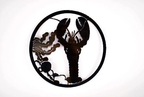 Lobster Circle Art