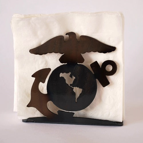 US Marines Large Napkin Holder