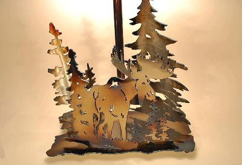 Moose Table Lamp Small