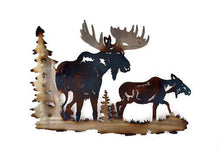 Moose and Cow Wall Art