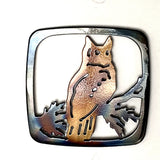 Great Horned Owl Coaster